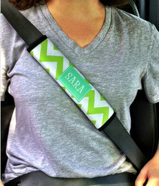 Personalized Seatbelt Strap Cover