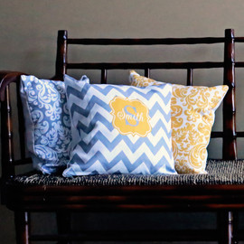Personalized Custom Decorative Throw Pillows