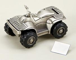 ATV All Terrain Vehicle Money Bank Piggy Bank Gift
