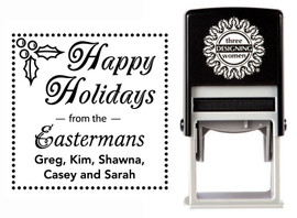 Holly Self-Inking Personalized Address Stamp - CS3506_HH