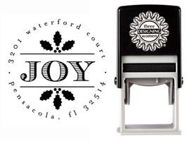 JOY Self-Inking Personalized Address Stamp - CS3525