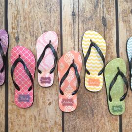 Womens Flip Flops Personalized Sandal