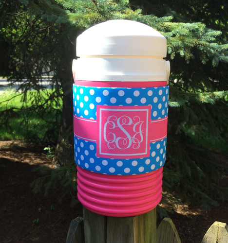 Personalized PINK Half Gallon Water Cooler