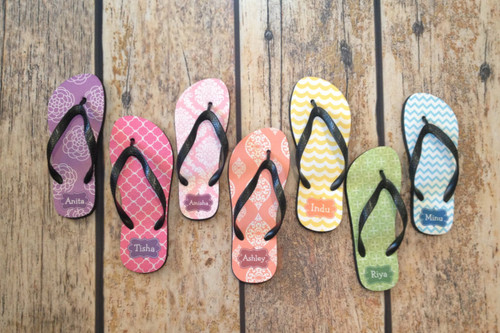 Monogram Flip Flops - Design Your Own