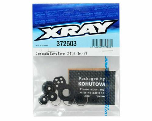 Xray Composite Servo Saver Set X-Stiff