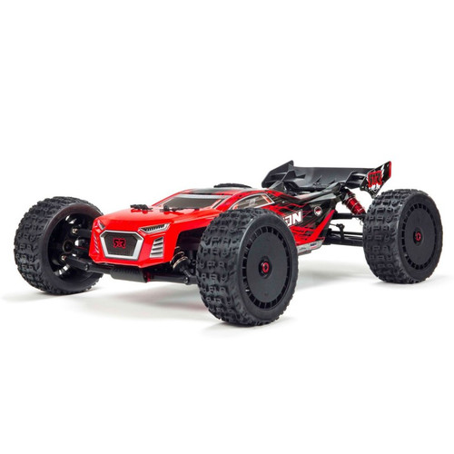1/8 TALION 6S BLX 4WD Brushless Sport Performance Truggy RTR, Red/Black by ARRMA