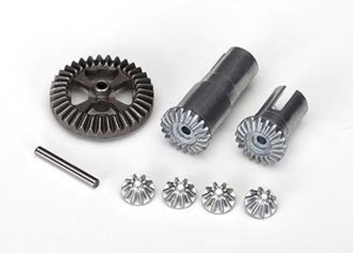 TRAXXAS 7579X - GEAR SET, DIFFERENTIAL, METAL (OUTPUT GEARS (2)/ SPIDER