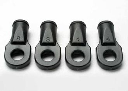 TRAXXAS 5348 - ROD ENDS, REVO (LARGE, FOR REAR TOE LINK ONLY) (4)