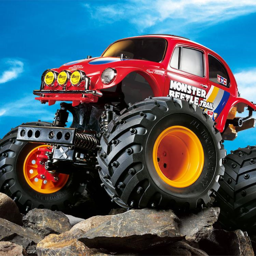 TAMIYA 1/10 RC MONSTER BEETLE TRAIL GF-01TR