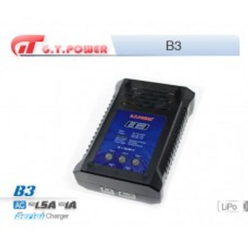 B3 AC240V/1.0-1.5A, 2S/3S Lipo balance charger, 3 LEDS.