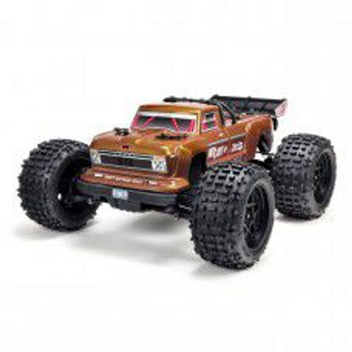 1/10 Outcast 4x4 4S BLX 80+km/h Monster Stunt Truck, Bronze by Arrma SRP$788
