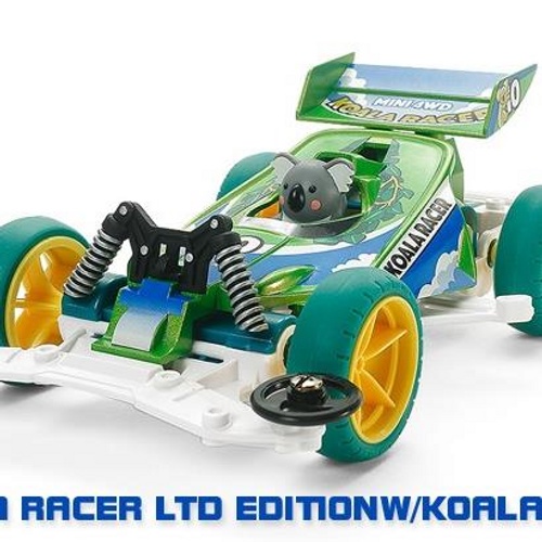 MINI 4WD KOALA RACER LTD EDITION CAR W/KOALA (VS)
