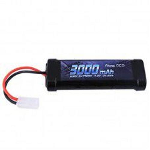 Gens Ace 3000mAh 7.2v NiMh W/Tamiya Plug 135x47x24mm, 360g