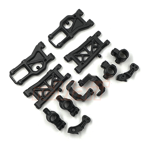 Xpress Composite Suspension Parts Set Hard Strong For FT1 FT1S XQ1 XQ1S #XP-10565
