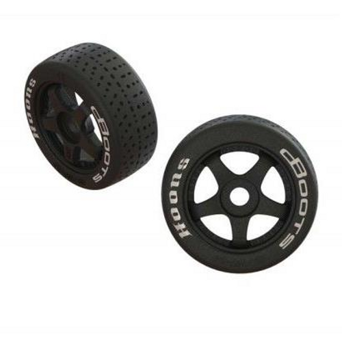 DBoots Hoons 42/100 2.9 Belted Tyre Pre Glued on 5-Spoke Wheel W/17mm Hex (2) Infraction by ARRMA