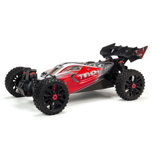 1/8 TYPHON 3S BLX 4WD Brushless Buggy with Spektrum RTR, Red by ARRMA SRP$659