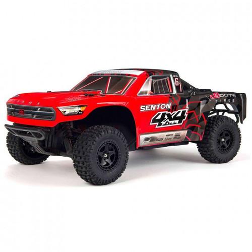 1/10 SENTON 4X4 V3 MEGA 550 Brushed Short Course Truck RTR Red/Black by ARRMA SRP $499