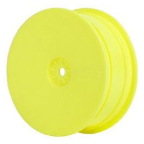1:10 BUGGY 2WD FRONT WHEEL YELLOW (AE-KYO) by AKA