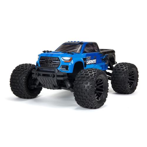 1/10 GRANITE 4X4 V3 MEGA 550 Brushed Monster Truck RTR Blue by ARRMA SRP $499
