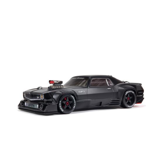 1/7 FELONY 6S BLX Street Bash All-Road Muscle Car RTR, Black by ARRMA