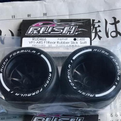 RUSH F1 RUBBER SLICKS MEDIUM