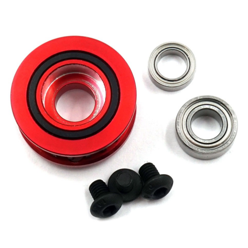 ALUMINUM 20T CENTER PULLEY SET A FOR EXECUTE XQ10