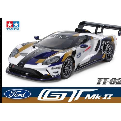 TAMIYA 1/10 2020 FORD GT MK II TT-02