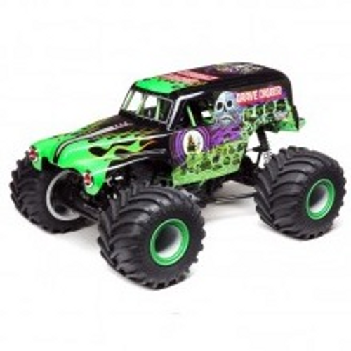 LMT:4wd Solid Axle Monster Truck, Grave Digger:RTR by LOSI