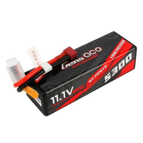NEW Gens Ace 5300mAh 3S 11.1v 60C Hardcase with EC5