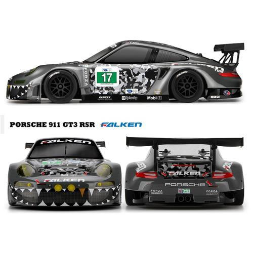 1/10 RS4 S3 Flux 911 'Falken' HPI 114350 HPI Racing 1/10 EP RS RS4 Porsche 911 S3 Flux 'Falken'