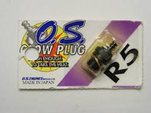 OS NO.R5 GLOW PLUG (HIGH NITRO