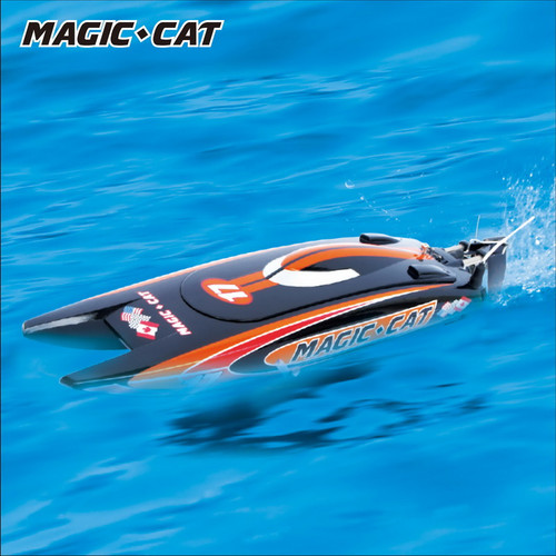 MAGIC CAT RTR 2.4GHZ BOAT-BRUSHED