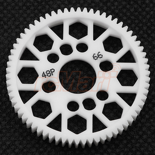 48P 66T COMPETITION DELRIN SPUR GEAR