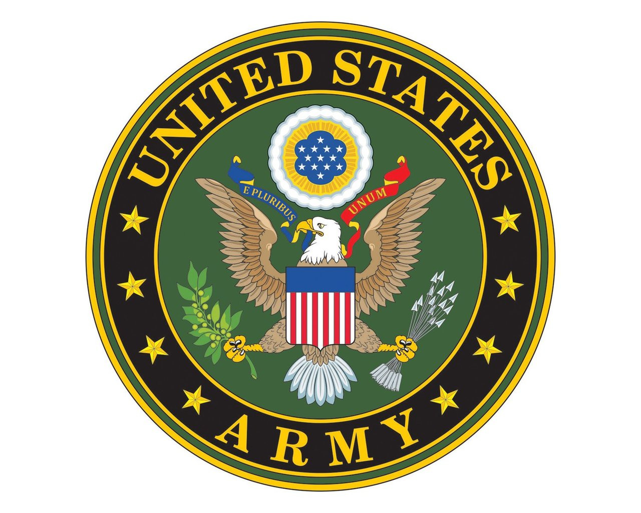 Army Emblem US Army Logo Vinyl Decal Sticker for Cars ...