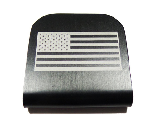American Flag Hat Clip