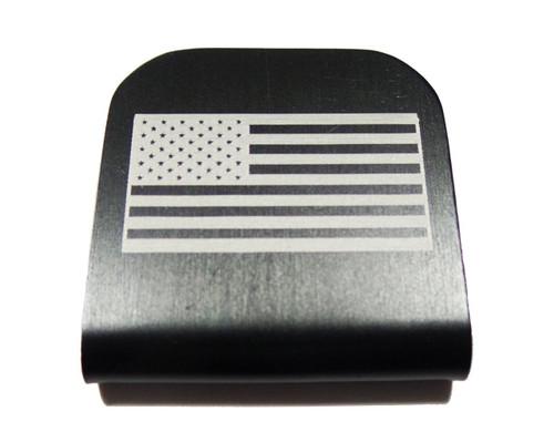 American Flag Hat Clip