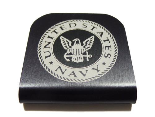 Navy Hat Clip
