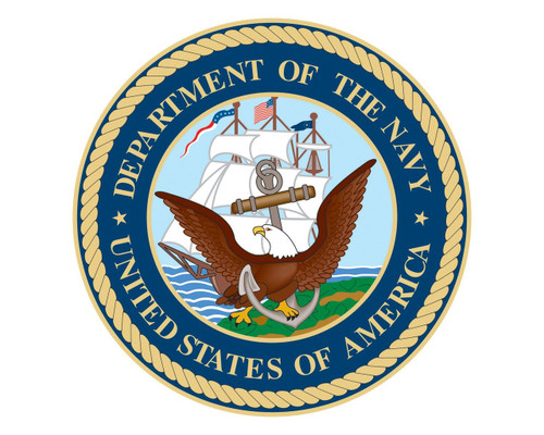 Navy Seal USN Emblem Logo Vinyl Decal Sticker for Cars Trucks Laptops etc.  Round