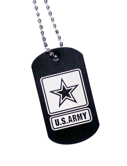 U.S. Army Dog Tag with Chain