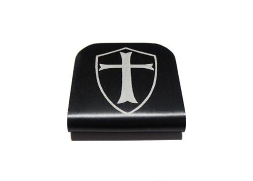 Templar Shield Hat Clip