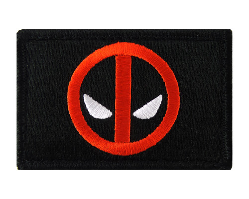 Deadpool Tactical Funny Velcro Fully Embroidered Morale Tags Patch