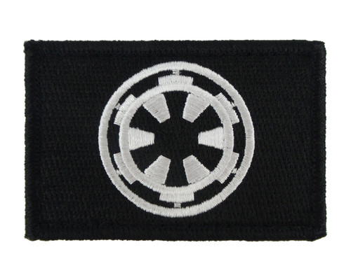 Galactic Empire Tactical Funny Velcro Fully Embroidered Morale Tags Patch