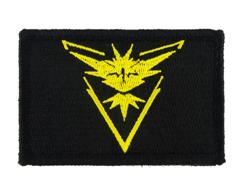 Pokemon Go Instinct Tactical Funny Velcro Fully Embroidered Morale Tags Patch