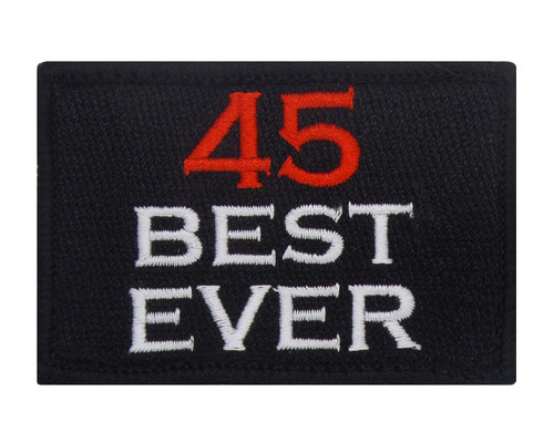 45 Best Ever Velcro Patch Morale Tags Fully Embroidered