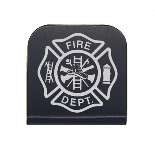 Maltese Cross Firefighter Hat Clip