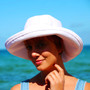 White Cotton - Wide Brim - The Noosa Hat