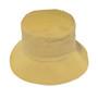Bucket Hat   Navy / Camel   Cotton