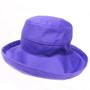Purple Cotton - Short Brim - The Noosa Hat