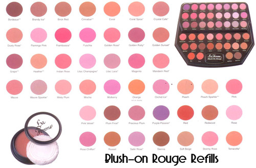 LaFemme Cosmetics Blush-on Rouge REFILL ONLY