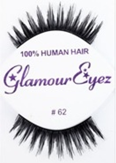 62 EYELASH - single, 1/2 dozen, dozen
